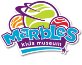 Marbles Kids Museum logo
