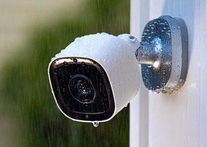 outdoor camera outside in the rain