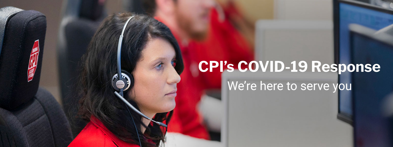 CPI Security Covid-19 Banner Image