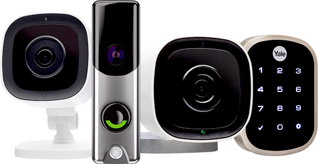 outdoor camera and doorbell camera