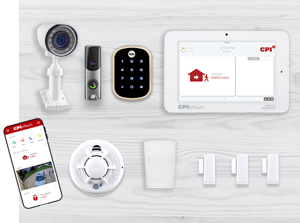 Home Security Systems from CPI Security® | 800-387-8274