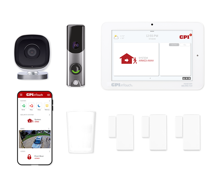 Home Security Systems From Cpi Security 174 800 387 8274