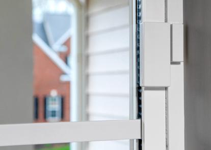 CPI sensor mounted on an interior door
