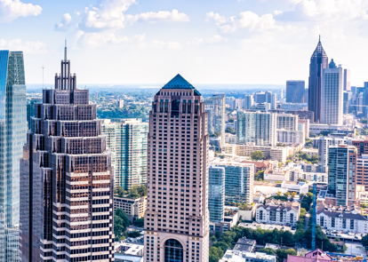 Atlanta sky line
